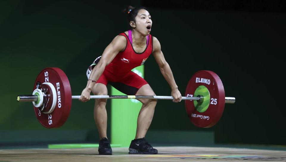 Highlights of 2018 Commonwealth Games in Gold Coast here. India's Saikhom Mirabai Chanu set a new Commonwealth Games record to win gold in women's 48 kg weightlifting at the 2018 Commonwealth Games in Gold Coast.