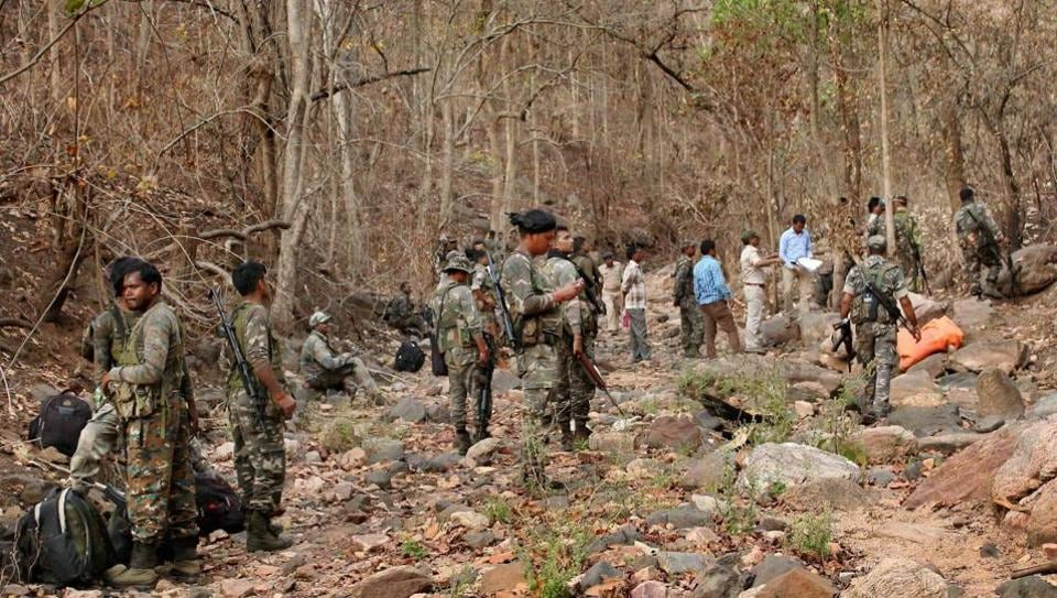 Security forces have intensified combing operations in places near roads in Maoist-hit areas and around camps set up for deployment of the forces, police said.