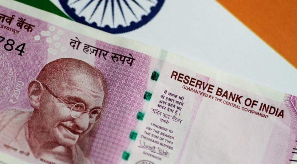 The rupee fell 14 paise to end at 65.15 against the US dollar on Wednesday.