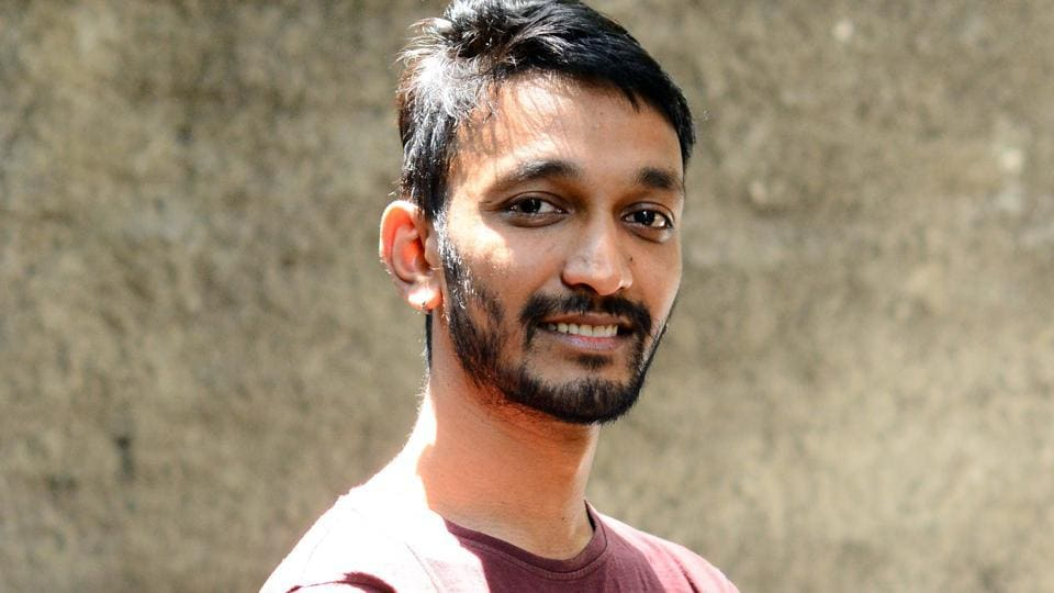 Shyam (Samuel) Konnur, founder and festival director, of the second edition of Out and Loud Pune International Queer Film Festival