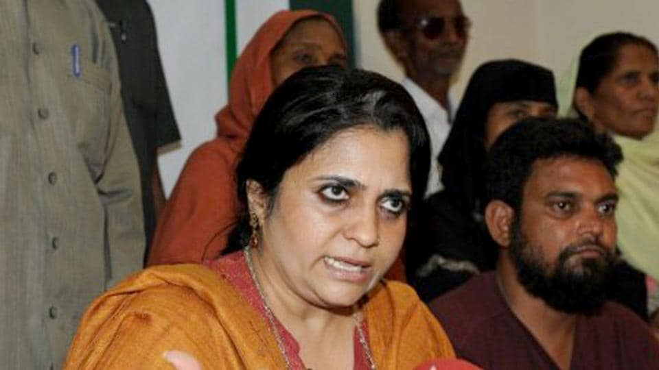 Teesta Setalvad had approached the high court seeking a transit anticipatory bail.