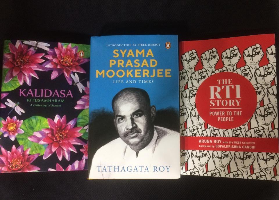 Syama Prasad Mookerjee,Tathagata Roy,RTI