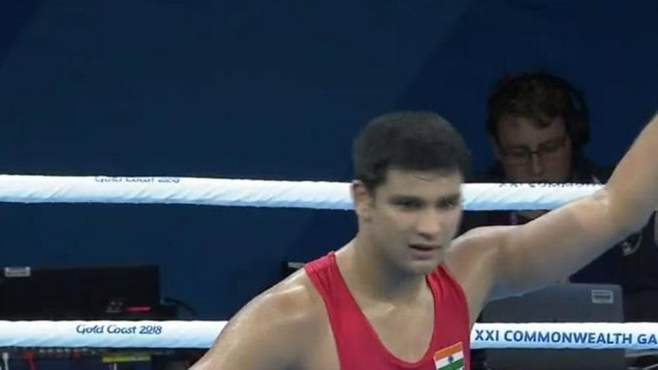 Naman Tanwar of India will next face Frank Masoe of Samoa in the quarterfinals of the 91 kg heavyweight boxing category at the 2018 Commonwealth Games (CWG) in Gold Coast.