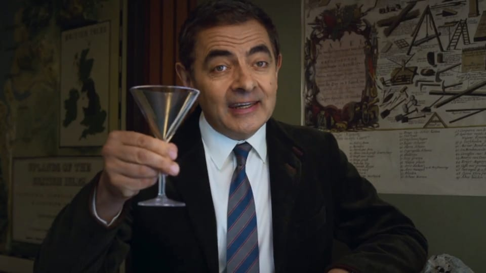 Rowan Atkinson has played Johnny English in two previous movies.