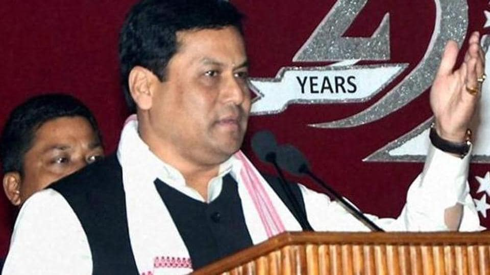 Assam chief minister Sarbananda Sonowal. His salary will go up to Rs 1.3 lakh from Rs 90,000, while his allowances for the two categories will become Rs 34,000 from Rs 17,000.
