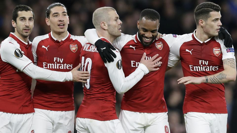 Europa League,Europa League quarterfinals,Arsenal FC