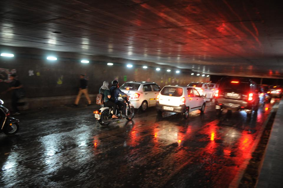 The rainfall dragged down the mercury in Gurgaon and brought residents much needed relief from the stifling heat.