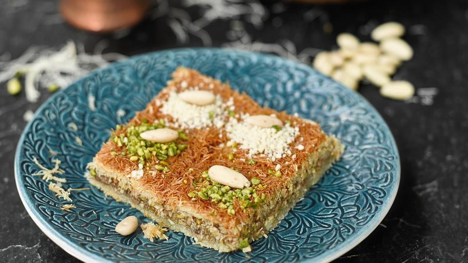 A traditional Arabian dessert.