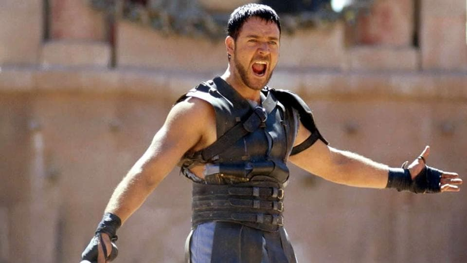 Russell Crowe won a Best Actor Oscar for Gladiator.