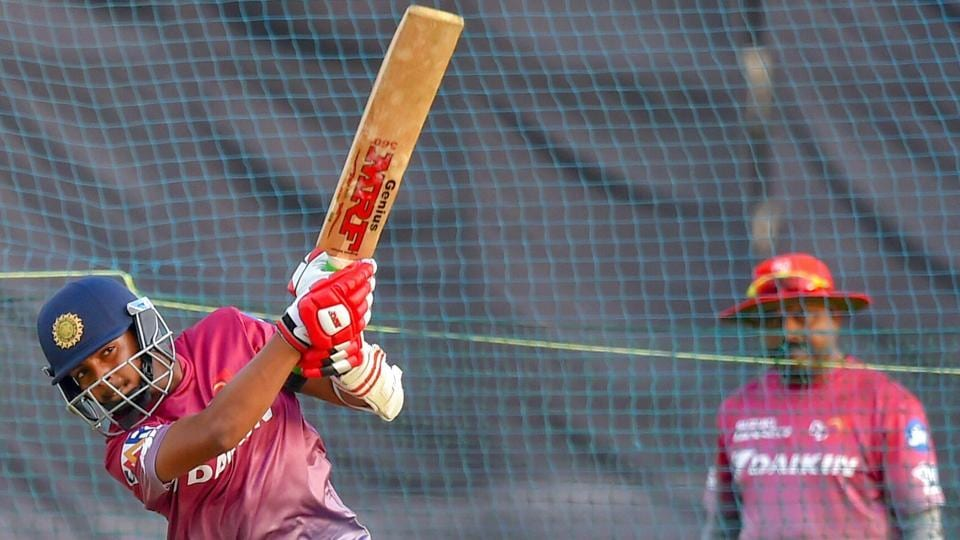 Prithvi Shaw will be playing in his first Indian Premier League.