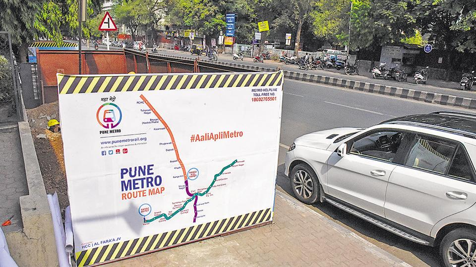 Carrying out Metro work on the corridor passing through Karve road is considered the most difficult task because of the narrow lanes and heavy traffic. Maha-Metro has requested traffic police to divert heavy vehicles plying on the road.
