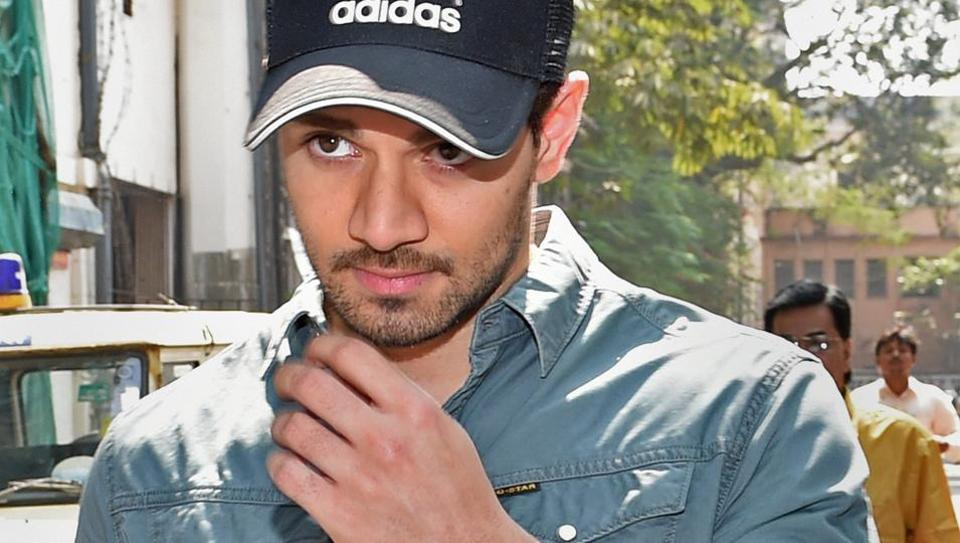 Sooraj Pancholi arrives at the Sessions Court for a hearing in the Jiah Khan suicide case in Mumbai on Wednesday.