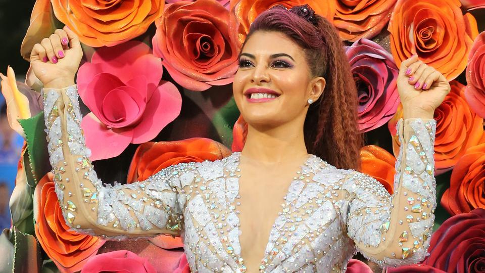 Jacqueline Fernandez performed on some of the hit songs from her Hindi movies.  (BCCI )