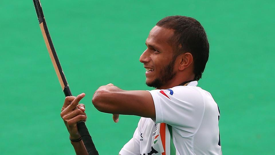 SV Sunil scored India's fourth goal against Wales in Commonwealth Games 2018 on Sunday.