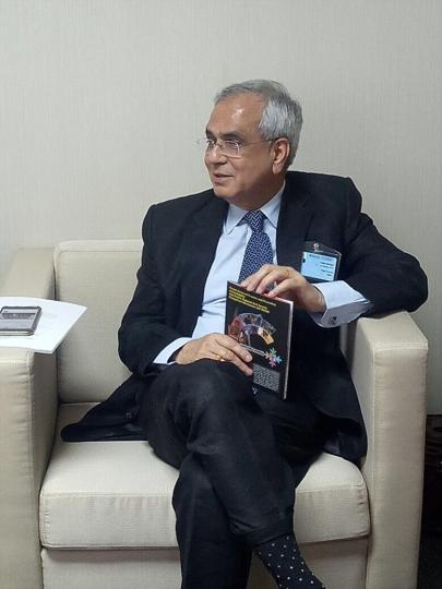 Rajiv Kumar (pictured) said Niti Aayog is working to design performance and outcome-based parameters for all budget items to improve efficiency of public expenditure.