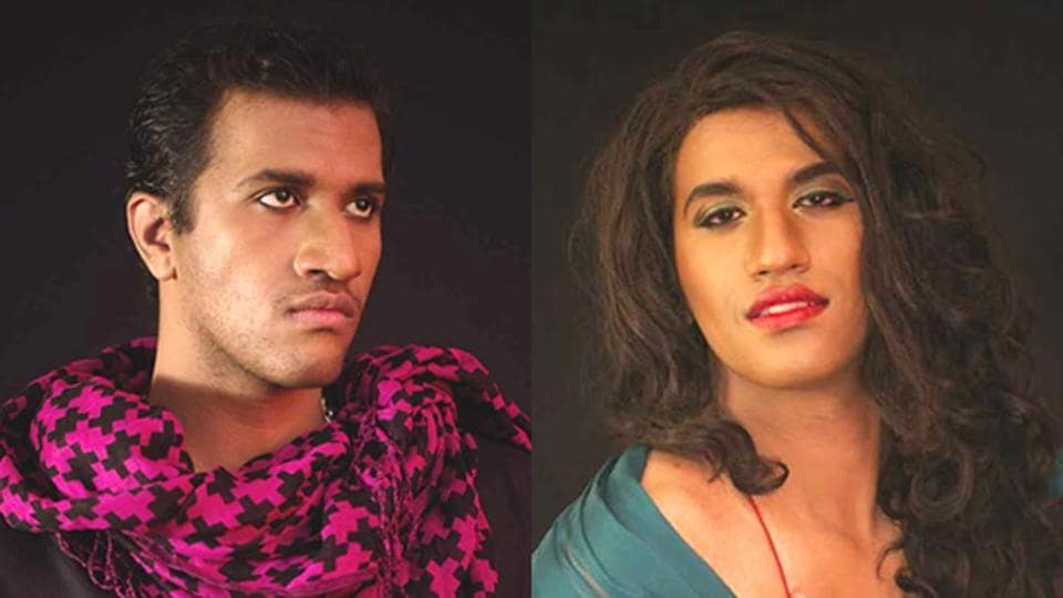 Alex Mathew, a public relations manager at a hotel in Bengaluru, transforms into drag queen Maya, who is the epitome of elegance and sass.