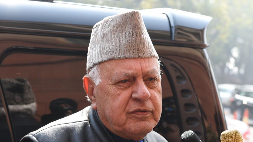 File photo of National Conference president Farooq Abdullah.