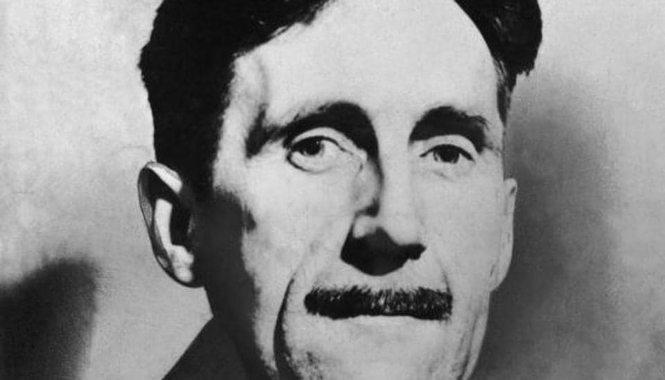In the letter, George Orwell (pictured) describes his reviewing work for the Times Literary Supplement and reports on improved health having embarked on a course of streptomycin.