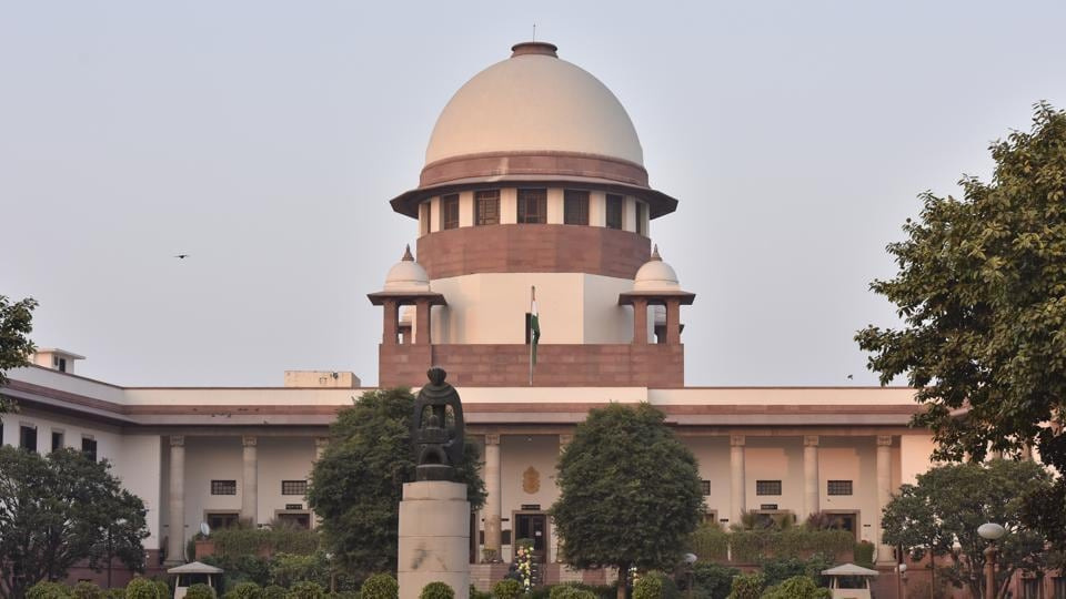 A view of the Supreme Court in New Delhi.