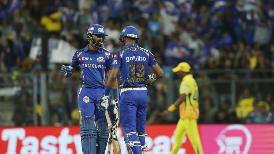 Krunal Pandya blasted 41 off 22 balls as Mumbai Indians reached 165/4 after 20 overs. (BCCI)