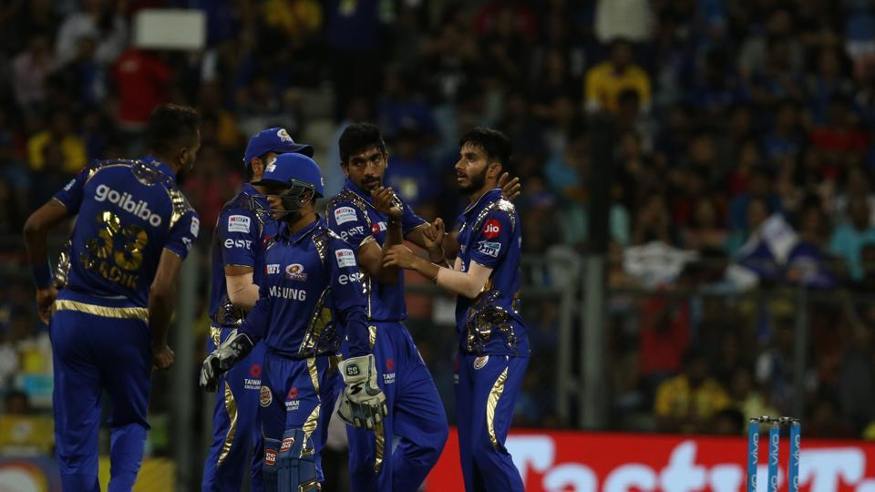 Markande's haul of 3/23 put Mumbai Indians on course for a win. (BCCI)