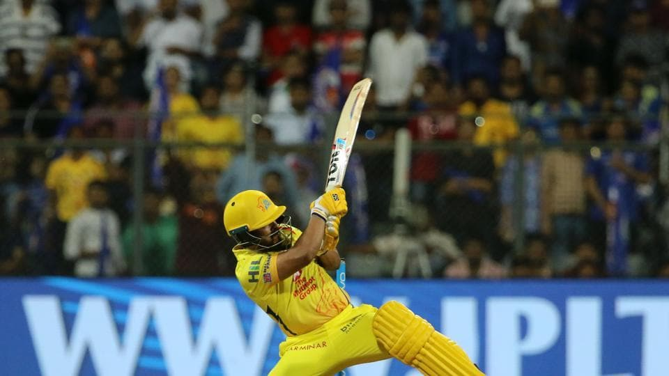 Kedar Jadhav held his nerve and slammed a six and a boundary to give Chennai Super Kings a thrilling one-wicket win to get the IPL 2018 tournament off to a thrilling start. (BCCI)