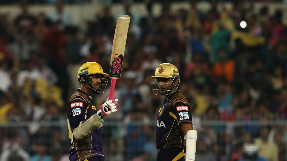 Sunil Narine's blazing fifty helped Kolkata Knight Riders beat Royal Challengers Bangalore by four wickets in the 2018 Indian Premier League. (BCCI)