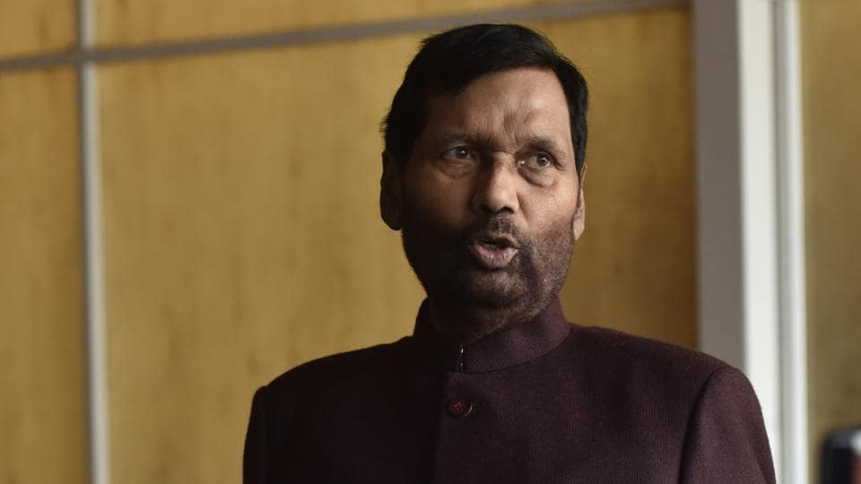 Sc St Act To Remain Intact No One Can Abolish It Says Ram Vilas Paswan India News Hindustan Times