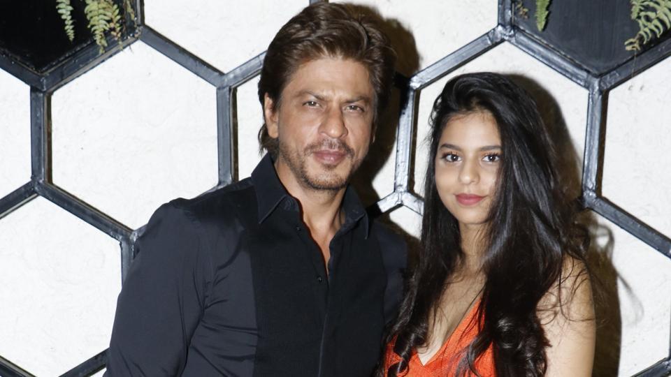 Shah Rukh Khan,Suhana,AbRam
