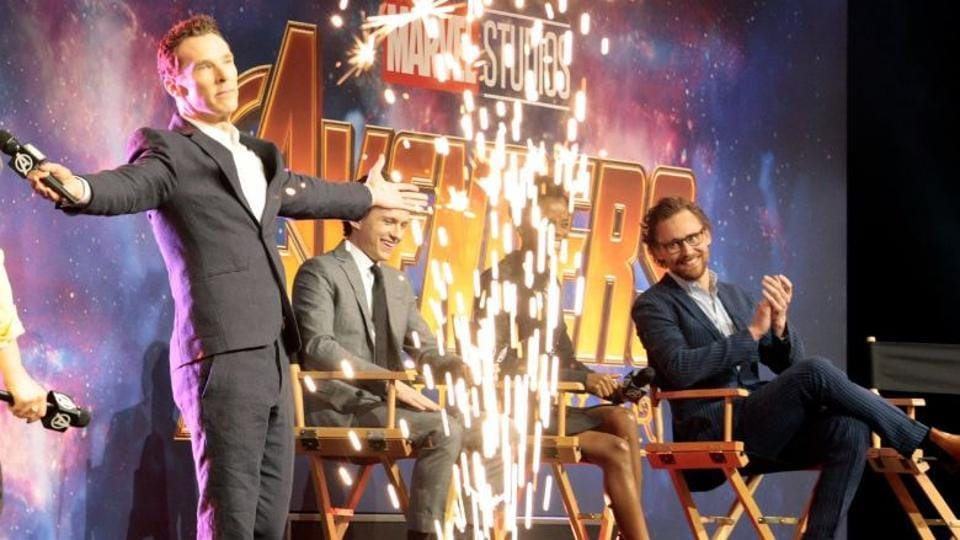 Avengers Infinity War,Bendict Cumberbatch,Tom Holland