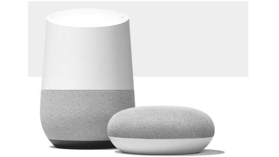 Google Home and Home Mini smart speakers are powered by Assistant.