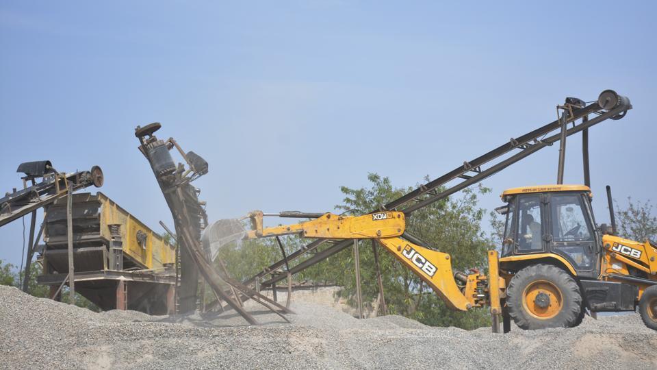 Hindon floodplains,river Hindon,demolition drive