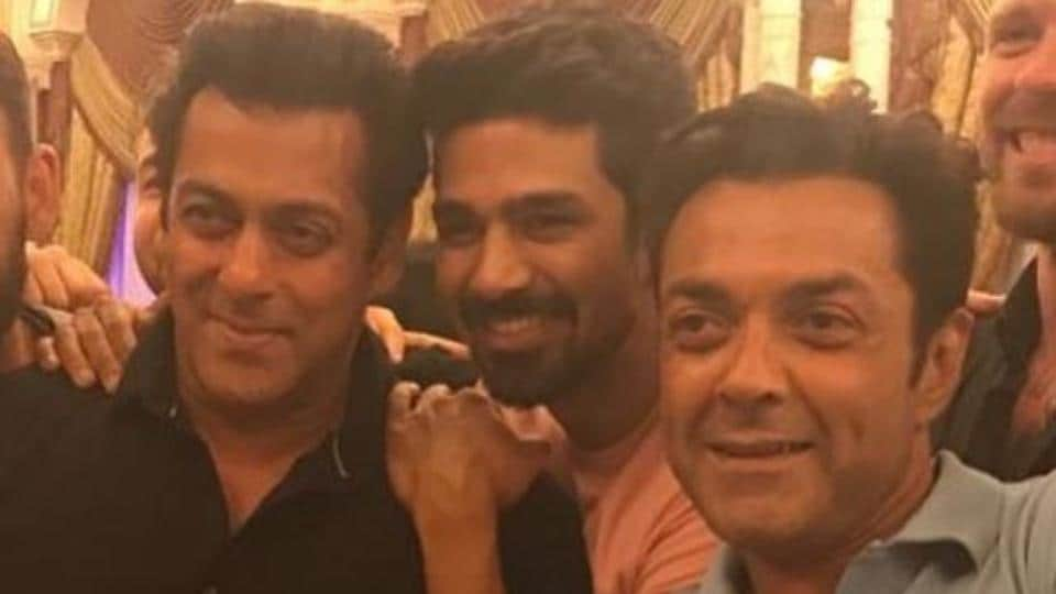 Salman Khan,Saqib Saleem,Bobby Deol