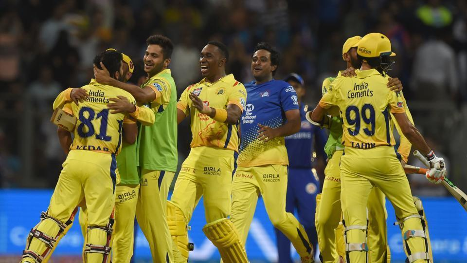 IPL 2018: Chennai Super Kings beat Kolkata Knight Riders in a thriller