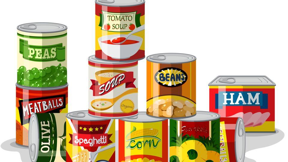 ZnO nanoparticles are present in the lining of certain canned goods for their antimicrobial properties and to prevent staining of sulfur-producing foods.