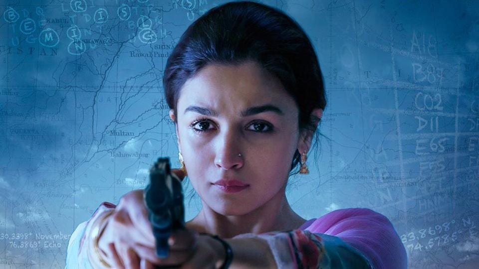 Alia Bhatt plays an Indian spy in Raazi trailer.