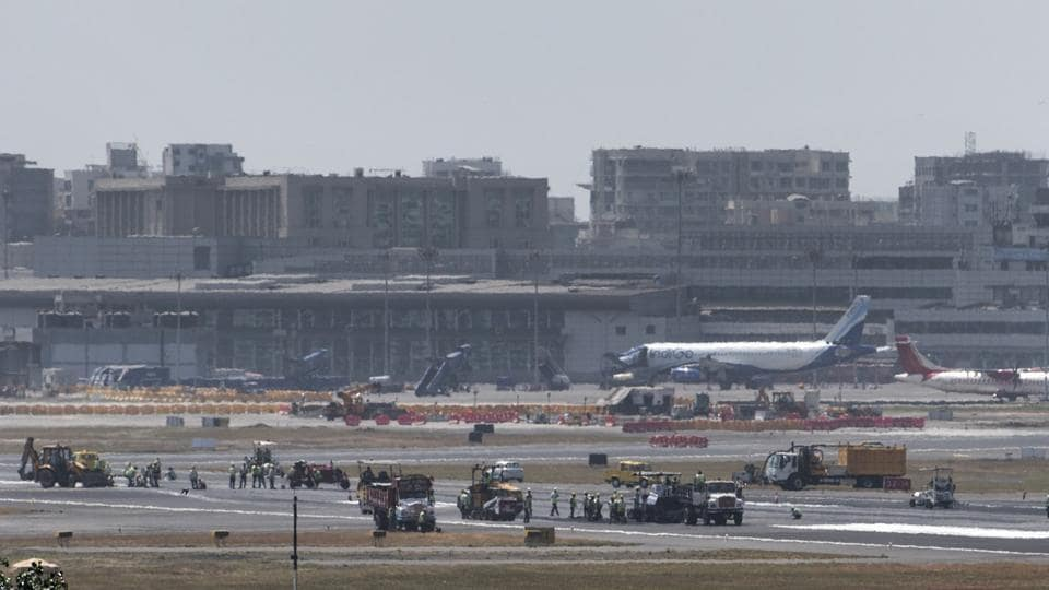 The runways were shut from Monday for monsoon-related maintenance work, leading to cancellation of 225 flights on both the days.