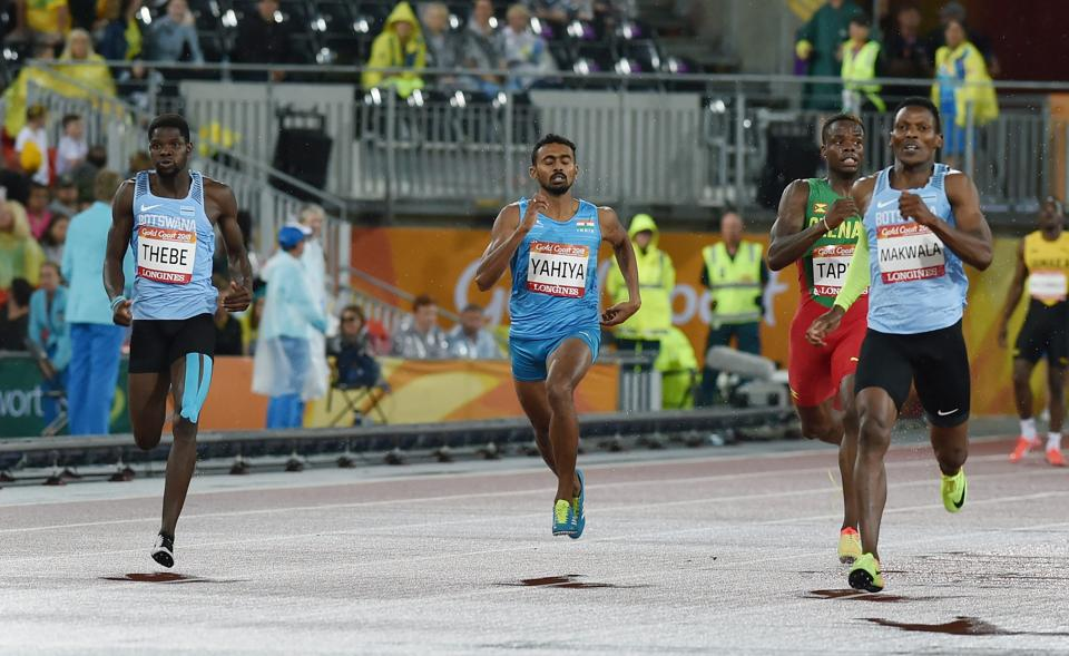 India's Muhammed Anas Yahiya finished fourth in men's 400 metres final (PTI)