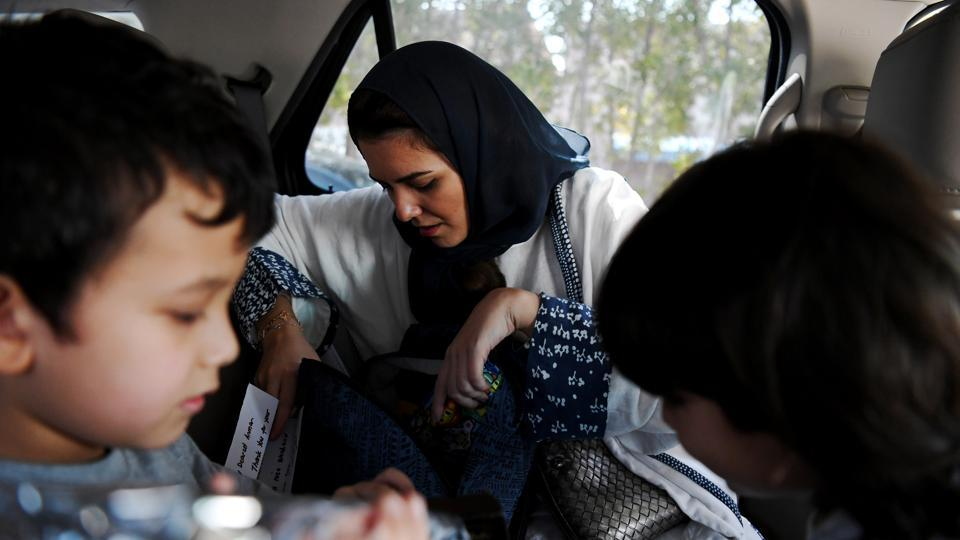 "The government has also announced plans to allow women to drive cars starting this summer and Amirah, a mother of two, is raring to hit the road. ""It's not like I want to drive just because I want to drive,"" she said. ""It's a need."" (Reem Baeshen / REUTERS)"