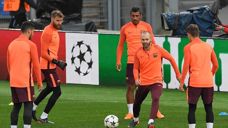 UEFA Champions League,FC Barcelona,Ernesto Valverde