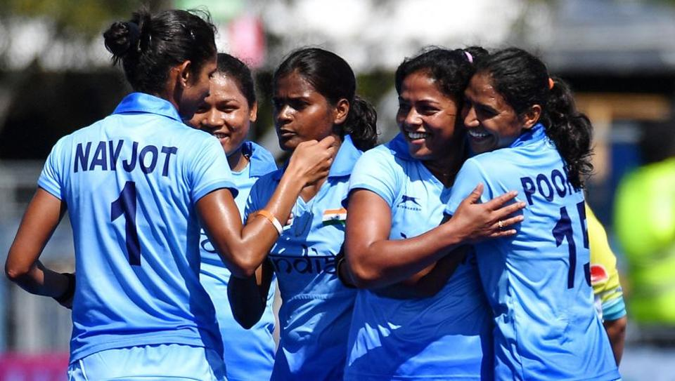Get highlights of the women's hockey match between India and South Africa, 2018 Commonwealth Games, here. The Indian women's hockey team managed a 1-0 win and moved to the semi-finals.
