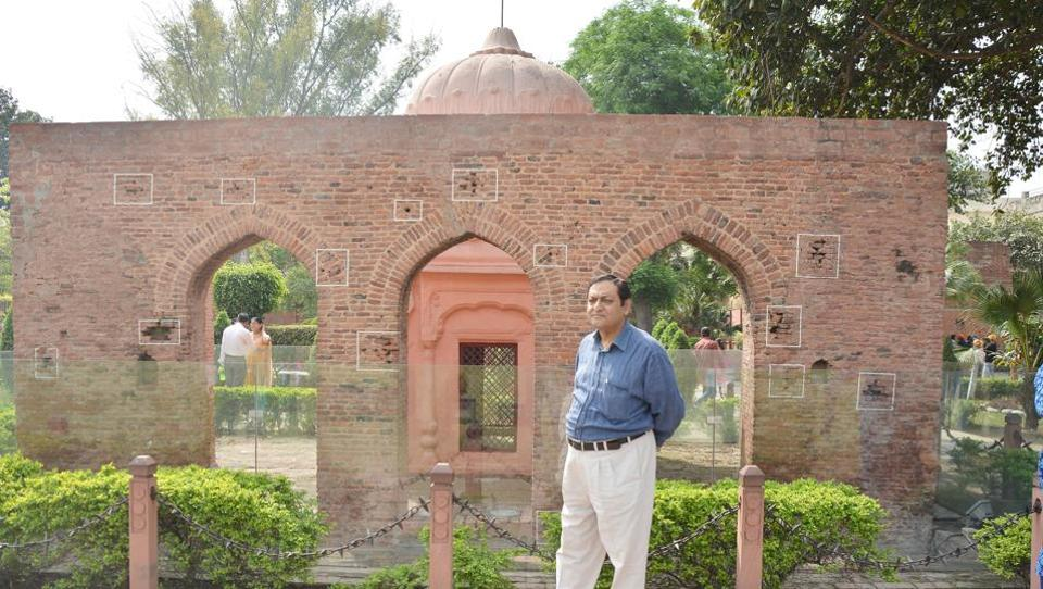 Sukumar Mukherjee, secretary of the Jallianwala Bagh National Memorial Trust. His grandfather Sashti Charan, who was present at the bagh on the day of the 1919 massacre, later moved a resolution for acquiring the bagh.