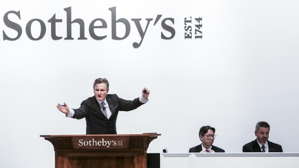 Sotheby's,Sotheby's India,Tyeb Mehta