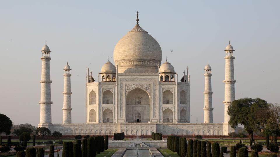 File photo of the Taj Mahal in Agra.