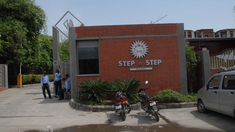 Noida,Step by Step School,food poisoning