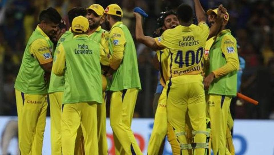 Chennai Super Kings are playing in the Indian Premier League after a gap of two years