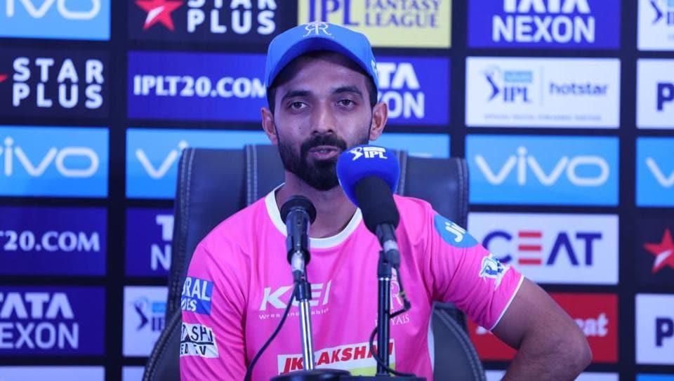 Ajinkya Rahane says Rajasthan Royals started their IPL 2018 game vs Sunrisers Hyderabad well but a lack of partnerships and loss of crucial wickets at regular intervals cost them.