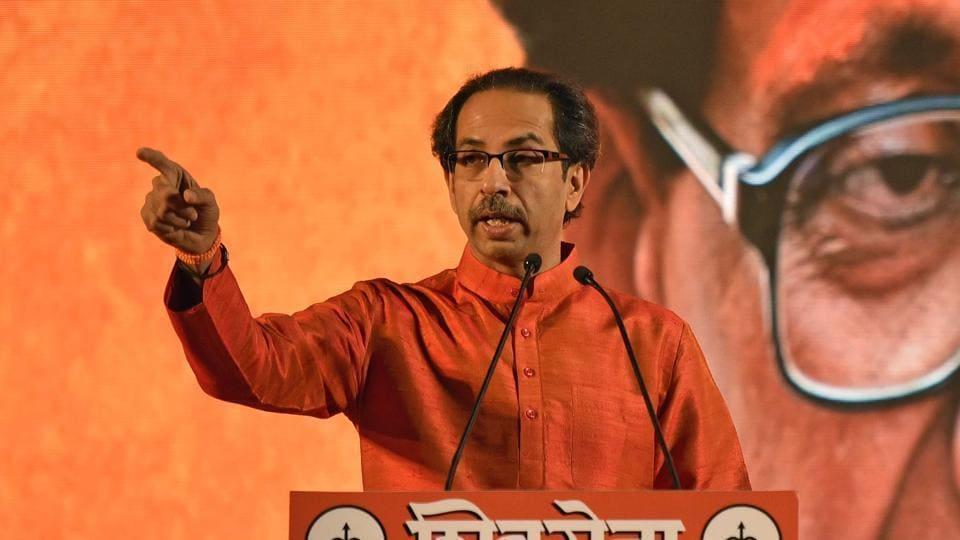 Sena chief Uddhav Thackeray