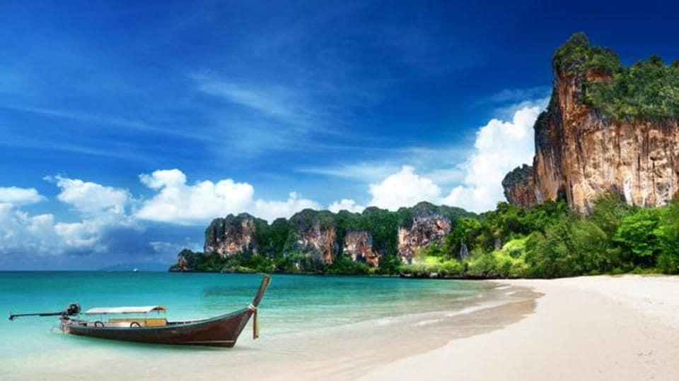 Made famous by the 2000 movie, The Beach, starring Leonardo DiCaprio, Maya Bay on the western Thai island of Koh Phi Phi Ley is now a case study in the ruinous costs of runaway tourism.