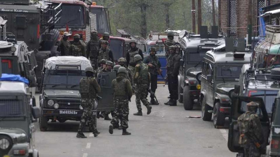 Kashmir encounter,Kulgam encounter,Kashmir violence